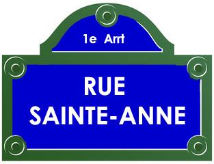 Rue sainte anne