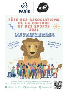 Affiche fete des associations et des sports